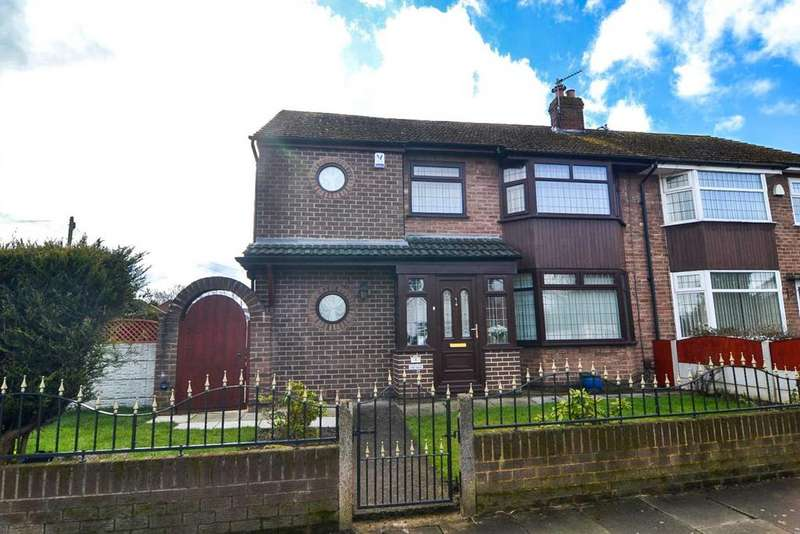 4 Bedrooms Semi Detached House for sale in Windsor Avenue, Newton Le Willows