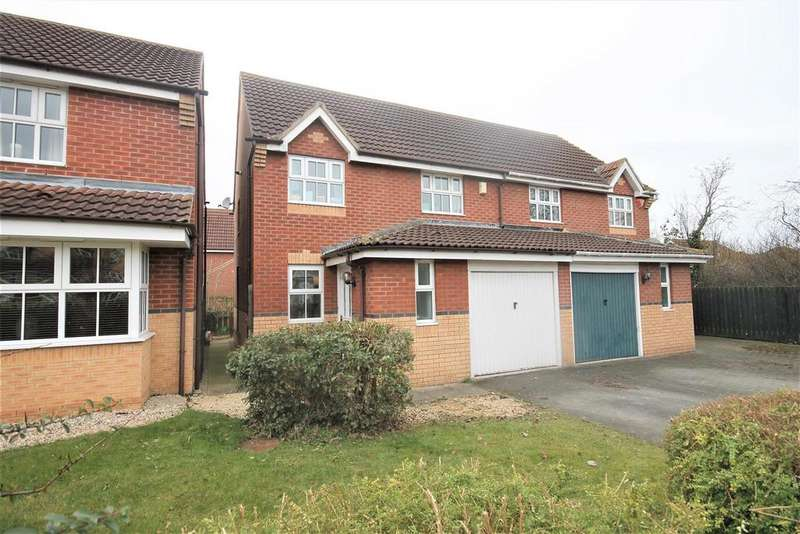 3 Bedrooms Semi Detached House for sale in Broomlee Close, Ingleby Barwick