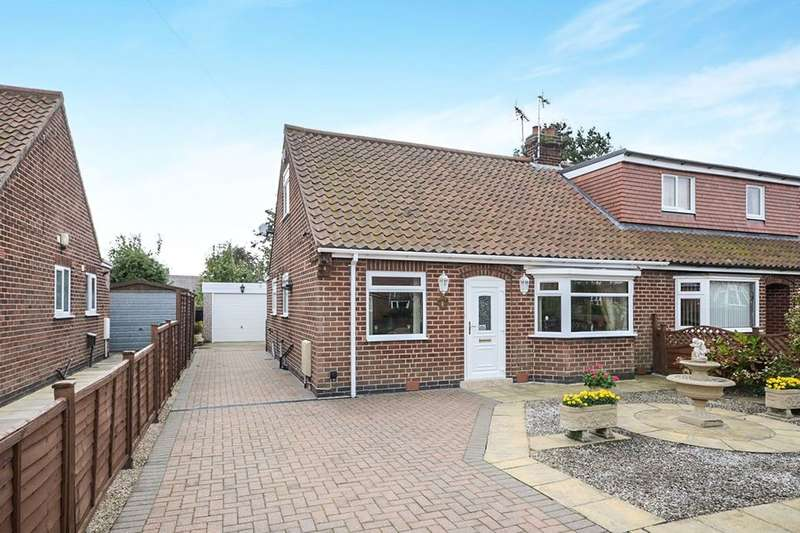 3 Bedrooms Bungalow for sale in Linden Close, Huntington, York, YO32