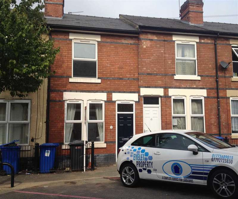 2 Bedrooms Terraced House for sale in Havelock Road - Peartree, Derby