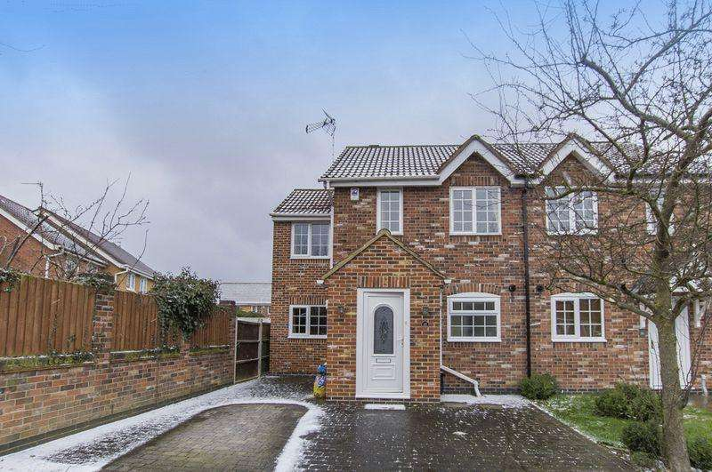 3 Bedrooms Semi Detached House for sale in LITTLE WOODBURY DRIVE, LITTLEOVER