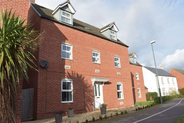 5 Bedrooms Detached House for sale in Ambrosia Walk, Rosefields, Tewkesbury, Gloucestershire