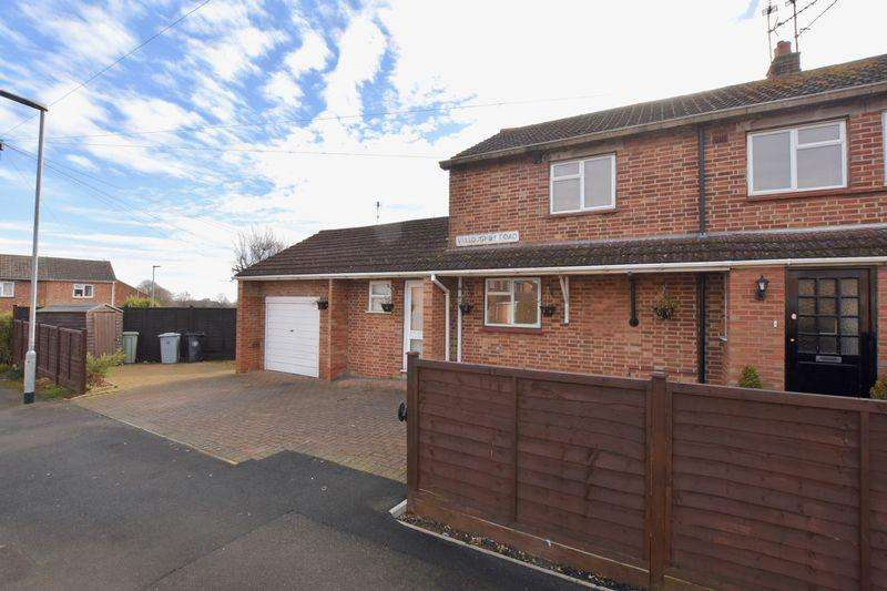 3 Bedrooms Semi Detached House for sale in Willoughby Road, Stamford