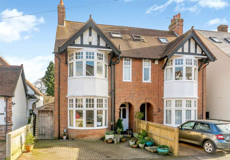 4 Bedrooms Semi Detached House for sale in Hamilton Road, Oxford, OX2