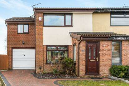3 Bedrooms Semi Detached House for sale in Beatty Drive, Westhoughton, Bolton, Greater Manchester, BL5