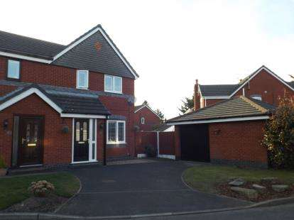 3 Bedrooms Semi Detached House for sale in Steeplechase Close, Aintree, Liverpool, Merseyside, L9