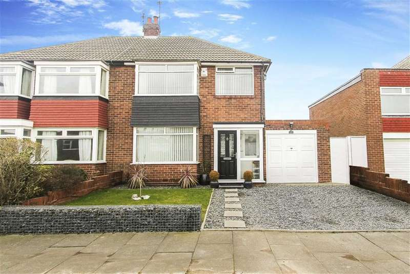 3 Bedrooms Semi Detached House for sale in Solway Avenue, North Shields, Tyne And Wear
