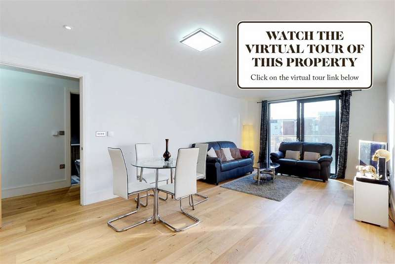 2 Bedrooms Flat for sale in Argo House, London, NW6