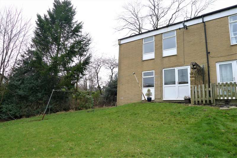 2 Bedrooms Semi Detached House for sale in St. Johns Close, Rishworth, Sowerby Bridge, HX6 4RL