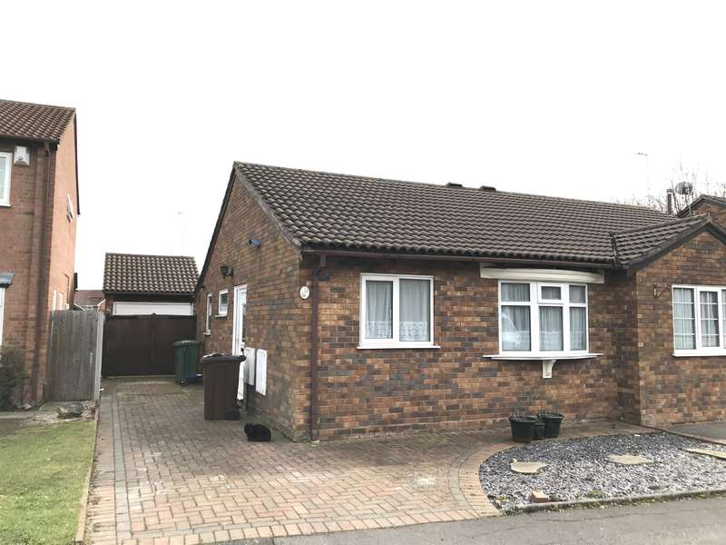 2 Bedrooms Bungalow for sale in Eastbury Drive, Solihull, B92 8TL