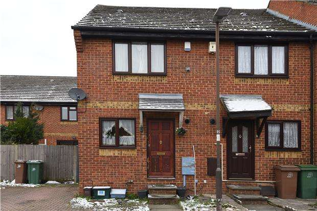 2 Bedrooms End Of Terrace House for sale in Oakdale Way, MITCHAM, Surrey, CR4