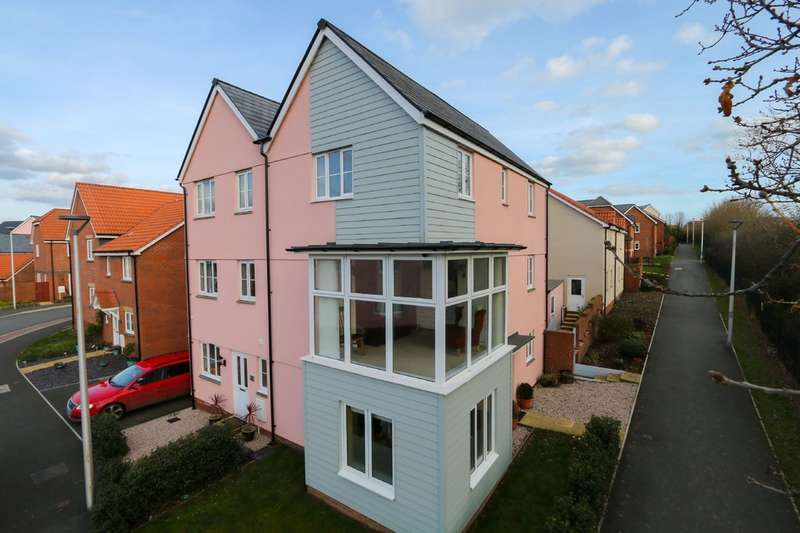 4 Bedrooms Semi Detached House for sale in Meadow Lane, Cranbrook