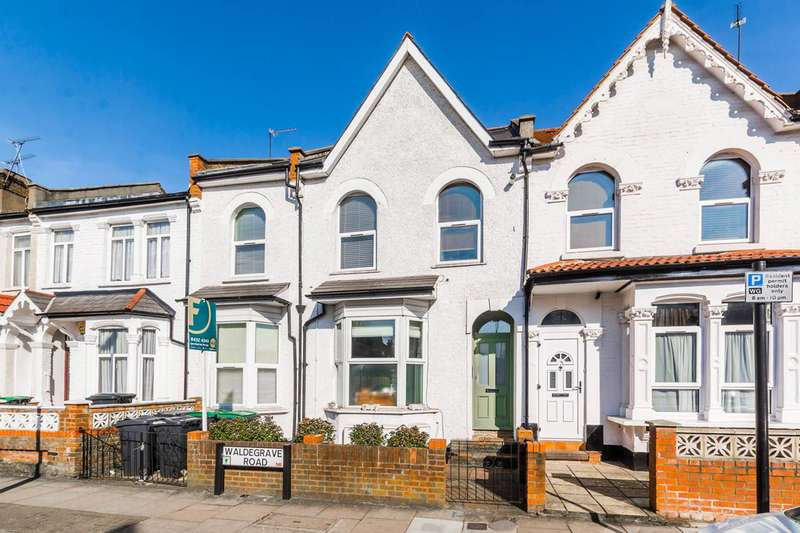 2 Bedrooms Flat for sale in Waldegrave Road, Turnpike Lane, N8