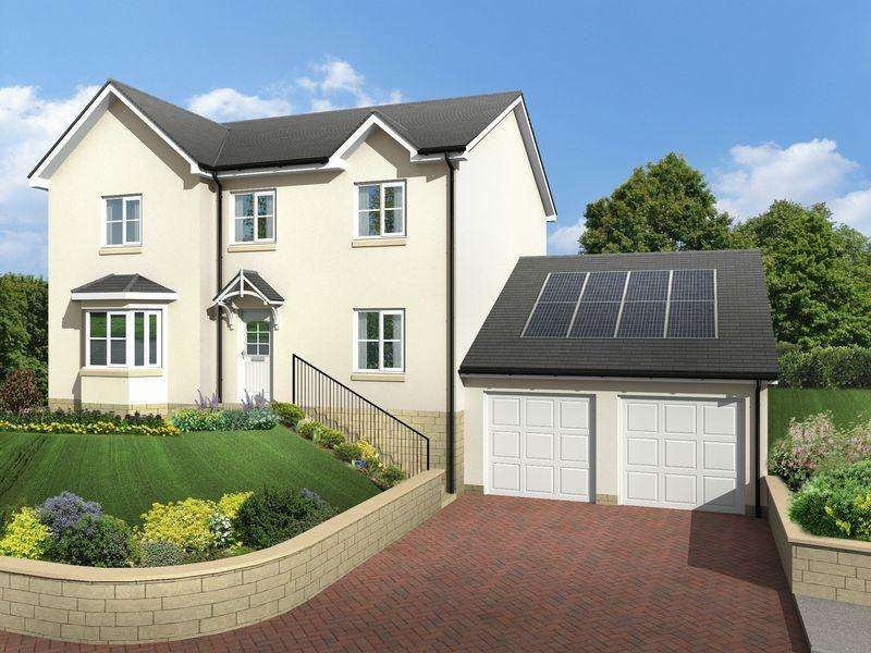 3 Bedrooms Detached House for sale in Ellwyn Terrace, Galashiels, Scottish Borders, TD1 2BA