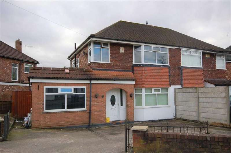 3 Bedrooms Semi Detached House for sale in Moorton Avenue, Burnage, Manchester, M19