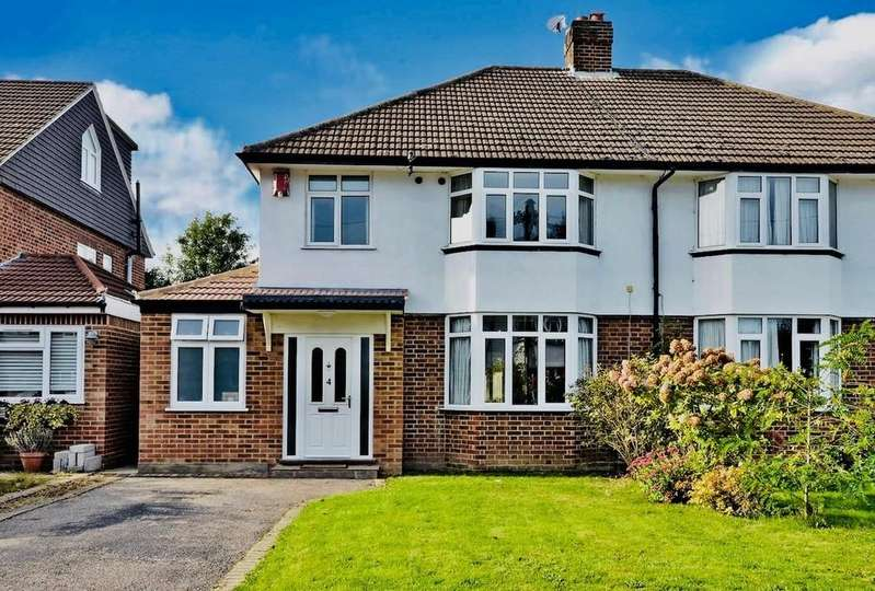 3 Bedrooms Semi Detached House for sale in Oakdene Avenue, Thames Ditton, KT7