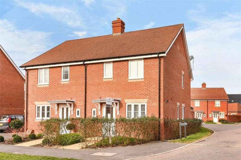 3 Bedrooms Semi Detached House for sale in Cutforth Way, Romsey, Hampshire