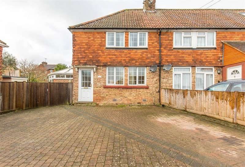 3 Bedrooms Semi Detached House for sale in Farley Nursery, Westerham