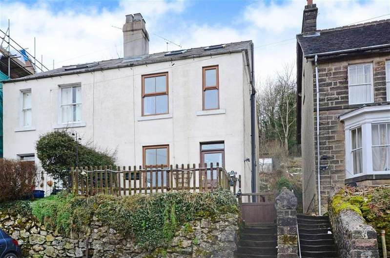 3 Bedrooms Semi Detached House for sale in 2 Thornleigh, Upperwood Road, Matlock Bath, Matlock, Derbyshire, DE4