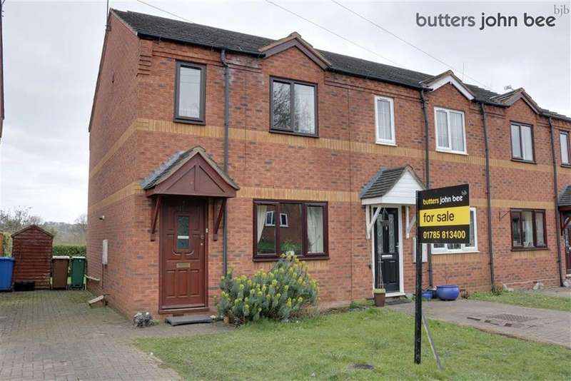 3 Bedrooms Town House for sale in Manor Rise, Stone, Staffordshire