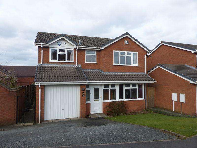 4 Bedrooms Detached House for sale in Westwood Hollow, Burntwood