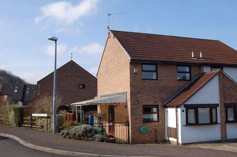 2 Bedrooms Semi Detached House for sale in Monmouth Town