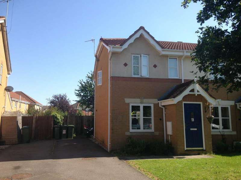 2 Bedrooms Semi Detached House for sale in Haskell Close, Thorpe Astley, Leicester, Leicestershire, LE3 3UA