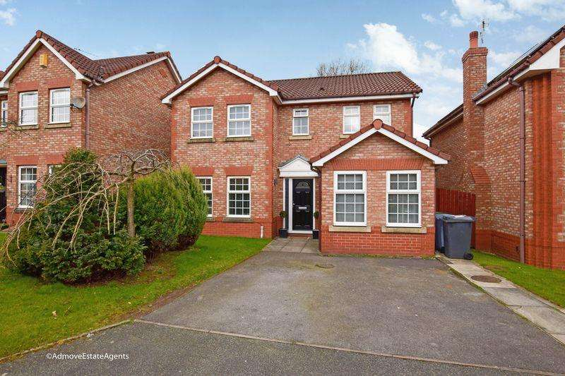 4 Bedrooms Detached House for sale in St Georges Close, Appleton