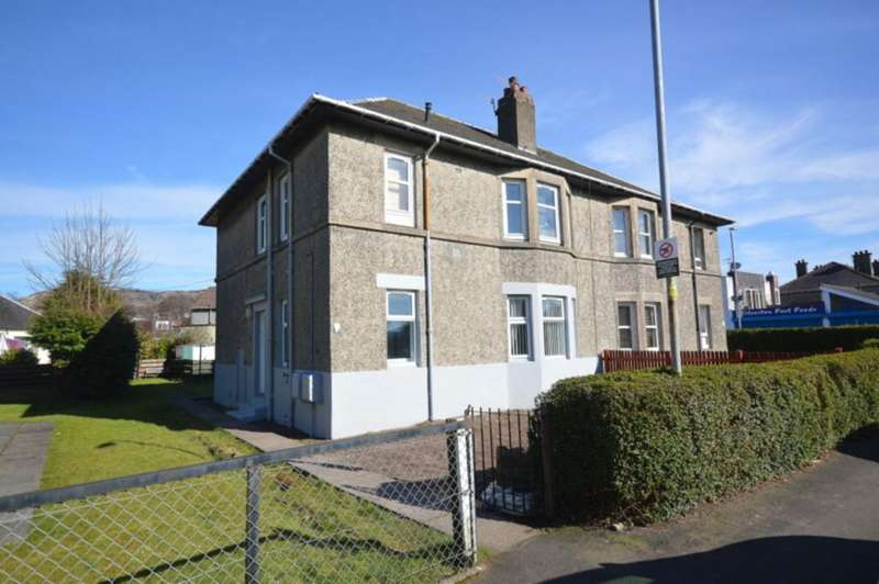 2 Bedrooms Apartment Flat for sale in Alclutha Avenue, Dumbarton G82 2NY