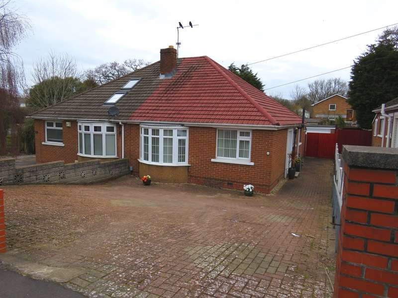2 Bedrooms Semi Detached Bungalow for sale in Pontypridd Road, Barry