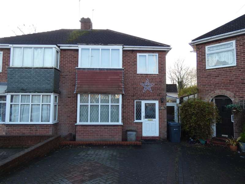 3 Bedrooms Semi Detached House for sale in Measham Grove, South Yardley, Birmingham