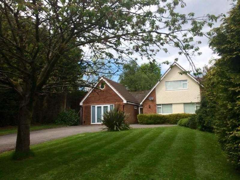 5 Bedrooms Detached House for sale in Gentleshaw Lane, Solihull, Solihull