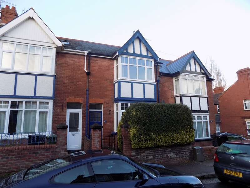 3 Bedrooms Terraced House for rent in Monks Road Exeter EX4