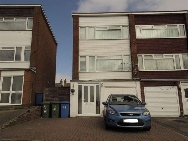 3 Bedrooms End Of Terrace House for sale in All Saints Road, SITTINGBOURNE, Kent