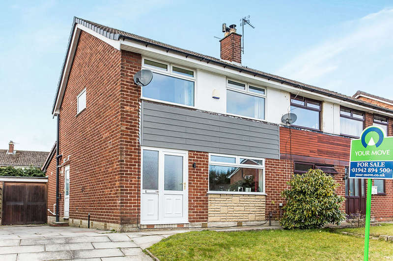 3 Bedrooms Semi Detached House for sale in Avon Road, Astley,Tyldesley, Manchester, M29
