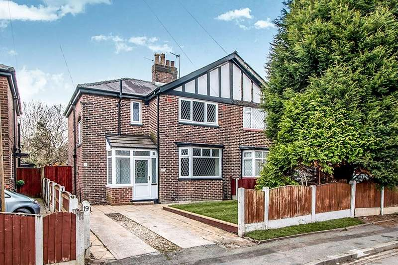 3 Bedrooms Semi Detached House for sale in Hawthorn Drive, Burnage, Manchester, M19