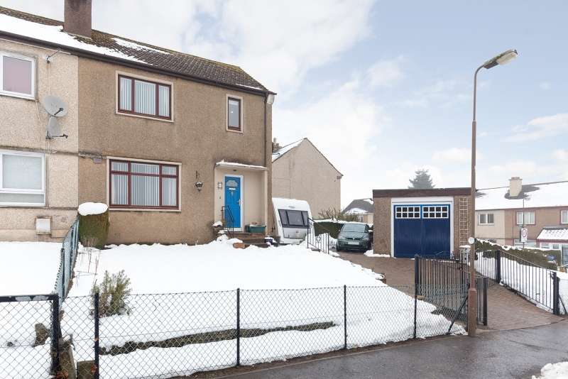 3 Bedrooms Semi-detached Villa House for sale in Bellman's Road, Penicuik, Midlothian, EH26 0AD
