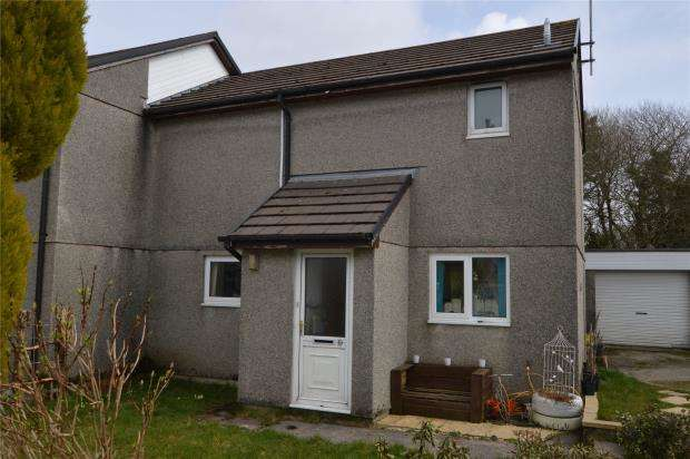 3 Bedrooms Semi Detached House for sale in Wesley Close, Stenalees, St. Austell, Cornwall