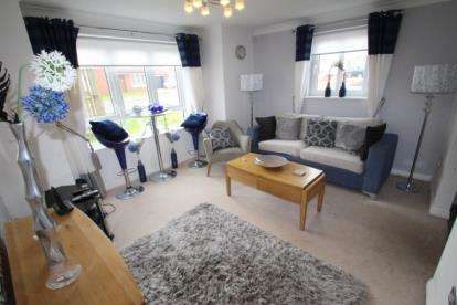 2 Bedrooms Flat for sale in Cambridge Crescent, Airdrie, North Lanarkshire
