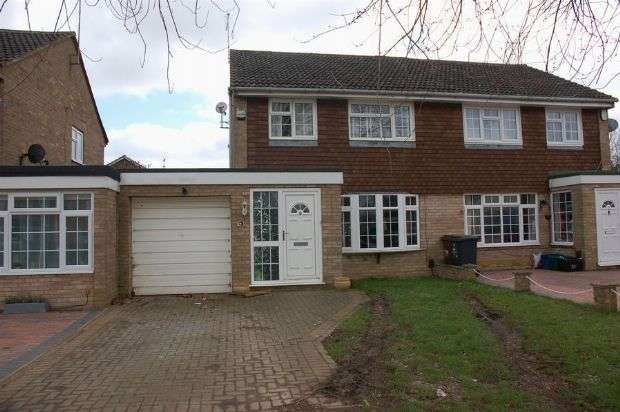 3 Bedrooms Semi Detached House for sale in Manning Road, Moulton, Northampton NN3 7XE