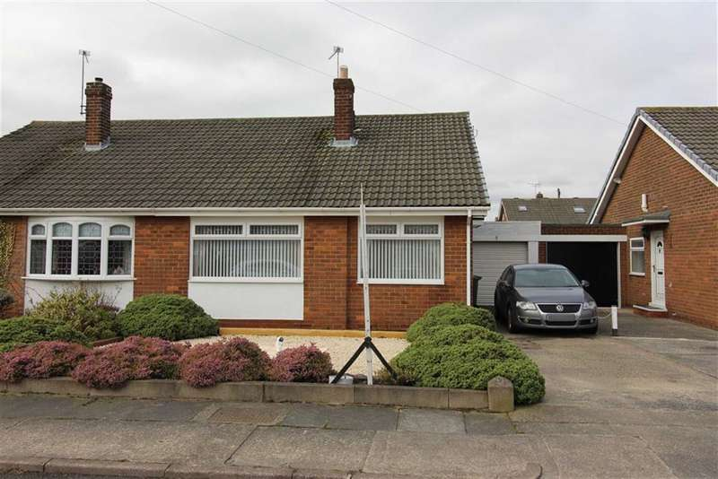 2 Bedrooms Semi Detached Bungalow for sale in Rutland Place, Usworth, Washington
