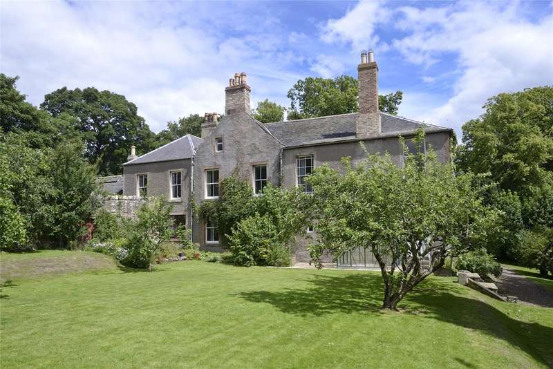 6 Bedrooms Detached House for sale in Swinton Manse, Main Street, Swinton, Duns, Scottish Borders, TD11