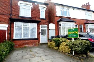 3 Bedrooms House for rent in Taylor road, Birmingham, B13 0PQ