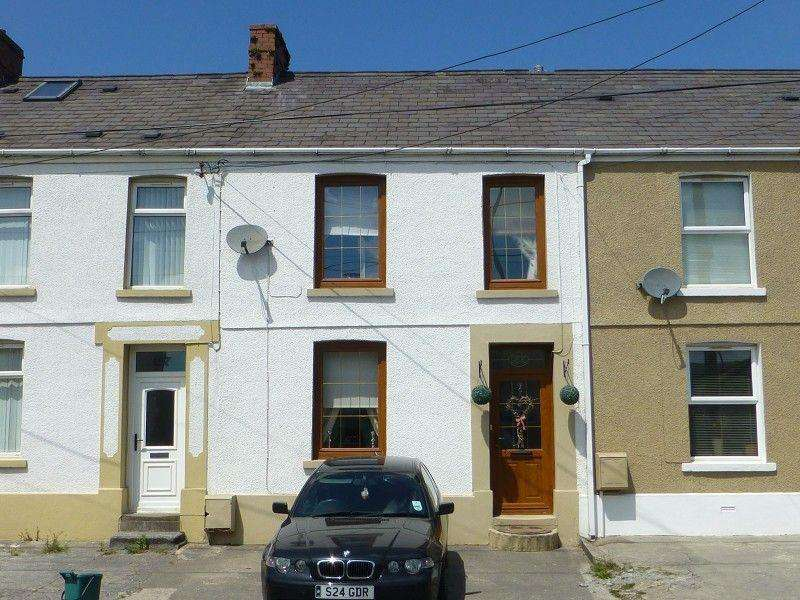 2 Bedrooms Terraced House for sale in Penybanc Road, Ammanford, Carmarthenshire.