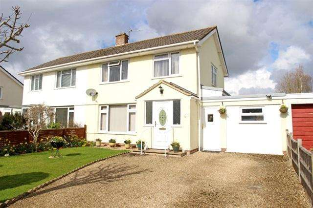 3 Bedrooms Semi Detached House for sale in Duke Avenue, Cannington, Bridgwater