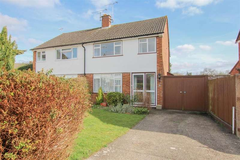 3 Bedrooms Semi Detached House for sale in Parsonage Close, Tring, HP23 4AU