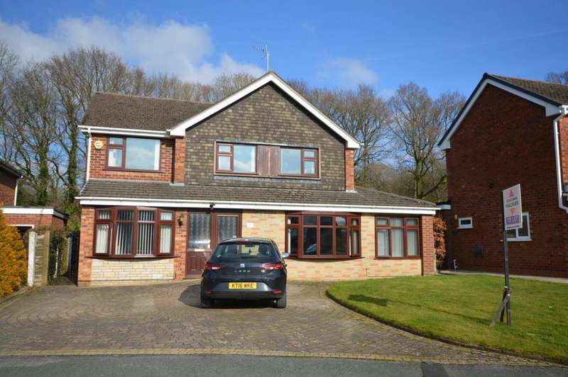 5 Bedrooms Detached House for sale in Beech Crescent, Poynton