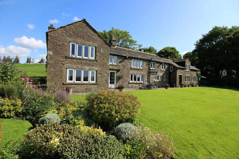 6 Bedrooms Unique Property for sale in New Hall Head, Woodhead, Belthorn, Lancs. BB1 2NP