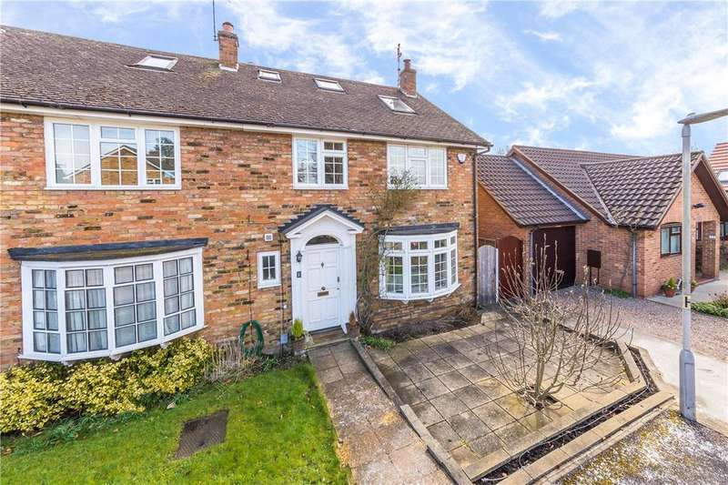 4 Bedrooms Semi Detached House for sale in The Danes, Park Street, St. Albans, Hertfordshire