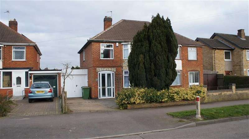 3 Bedrooms Semi Detached House for sale in Tournament Road, Glenfield